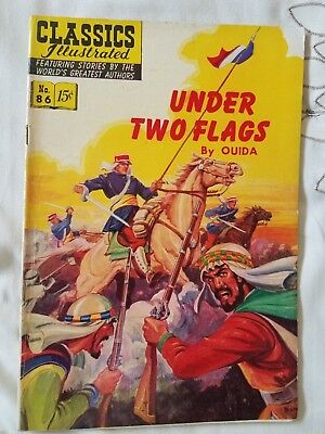 Under Two Flags: CLASSICS ILLUSTRATED #86 HRN 117 Fine