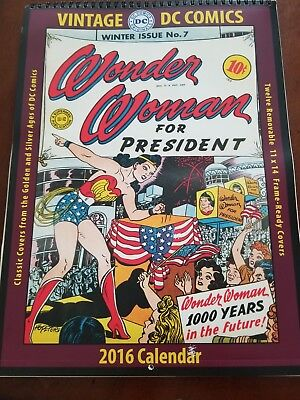 Wonder Woman Calender, DC COMICS, winter Issue No.7. 2016