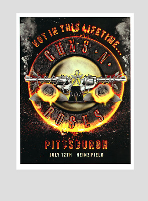 """GUNS N ROSES : PITTSBURGH 2016 """"Not in this lifetime tour"""" !!"""