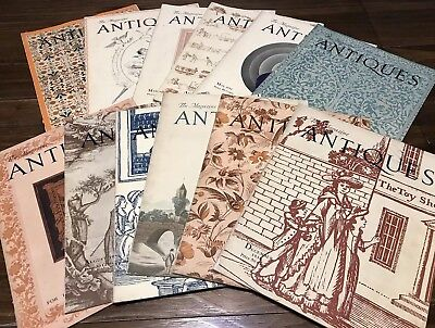 The Magazine ANTIQUES Lot of 12 Vols. 1934 January - December
