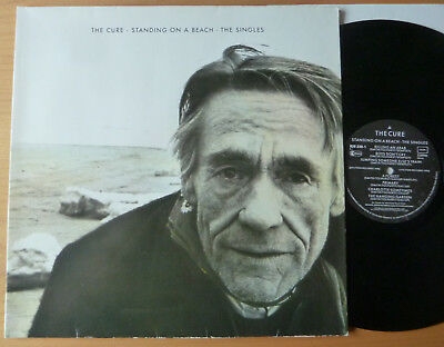 """LP THE CURE """" Standing On A Beach The Singles """" FOC + OIS"""