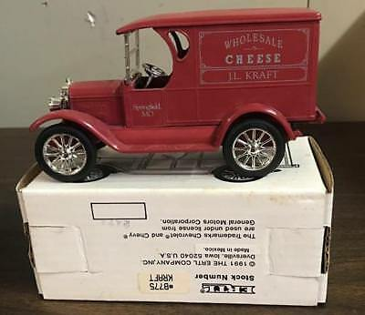 Ertl Diecast Bank Kraft Cheese 1923 Chevrolet 1/2 Ton Delivery Truck 1/25 Scale