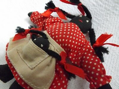 Hand Stitched Black Americana Mammy Doll