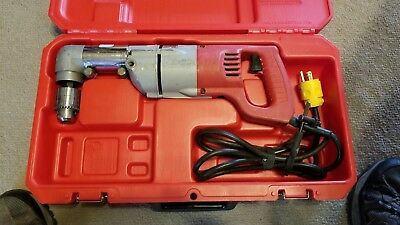 "Milwaukee 1101-1, 7-Amp, 1/2"" Right Angle Drill with Case"