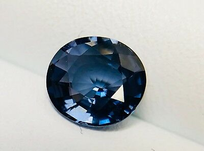 Spinelle bleu violet naturel, Sri lanka 1,48 carat, purple blue, blue spinel.