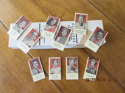 Peerless Penny Scale Movie Star Tickets - 200 mixed in Original Box