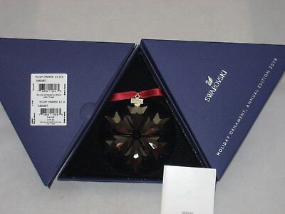 Swarovski 2018 Annual Edition Holiday RED Ornament New In Box (5460487)