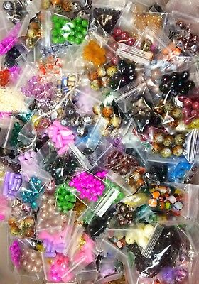 Large Mixed Bead Lot! 2️⃣5️⃣ Bags + Charms! Perfect For Jewelry Making & Crafts!