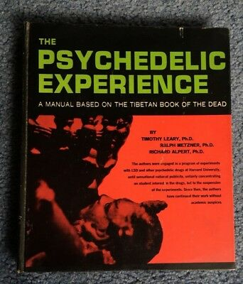 Psychedelic Experience Manual Tibetan Book of Dead Timothy Leary 1965 1st 3rd
