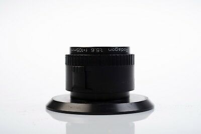 Rodenstock Rodagon 105mm f5.6 lens serial no: 10619554 with base plate.