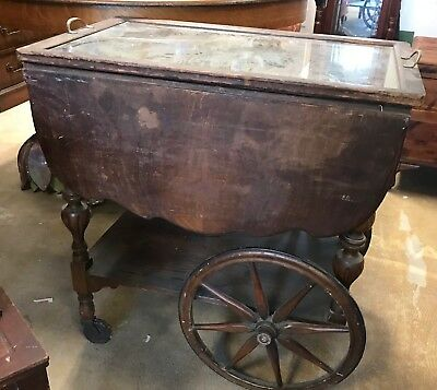 Antique Early 20th Century Grand Rapids Furniture Company Tea Cart