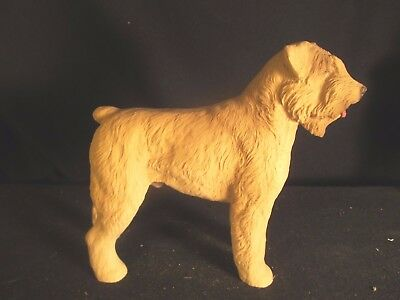 Vintage Large Bouvier des Flandres Dog Figure