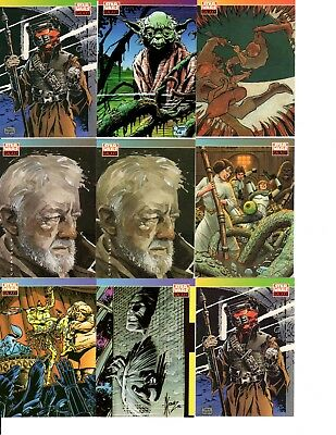 1993 Topps Star Wars Galaxy New Visions Trading Cards Lot Swccg
