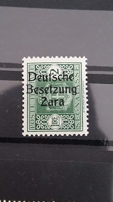 Stamps German Occupation Zara Signed BPP Value € 4,000+