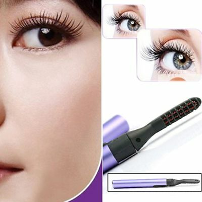 Fashion Long Lasting Curving Eye Lashes Electric Heated Eyelash Curler Makeup