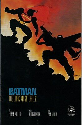 BATMAN The Dark Knight Falls #4 (1986) Mint condition, Bright white pages!