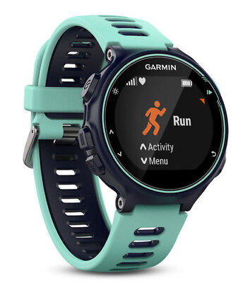 Garmin Forerunner 735xt GPS Multisport Watch in Frost Blue - As new