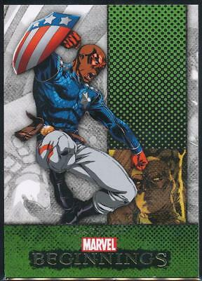 2012 Marvel Beginnings 2 Trading Card #235 Patriot