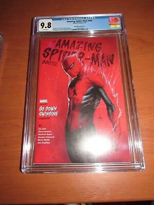 Amazing Spider-Man #800 - CGC 9.8 - First Print - Dell'Otto - 1:25 Variant
