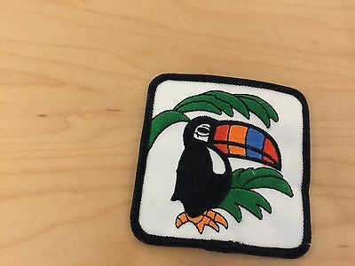 toucan patch, new old stock, us made , 1970's
