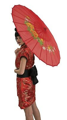 Asian Oriental Japanese Parasol Red New by Rubies 9548