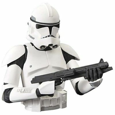 Star Wars Clone Trooper 7in. Bust Bank stormtrooper DST Toys = FREE SHiP=