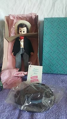 MADAME ALEXANDER DOLL Rhett  No 1380 with original tag EXTRA HAT VINTAGE