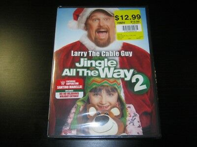 Jingle All The Way 2 Brand New Sealed DVD