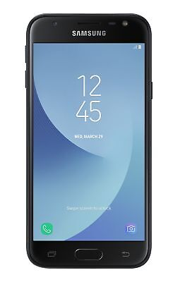 SIM Free Samsung Galaxy J3 2017 5 Inch 16GB 2GB 13MP Mobile Phone - Black