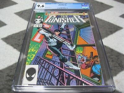 PUNISHER #1 CGC 9.6 Marvel 7/87 NICE BOOK WHITE PAGES
