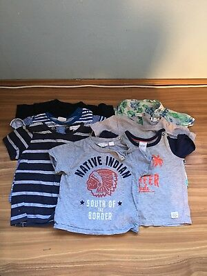 Baby Boy Tshirt Bundle Size 0