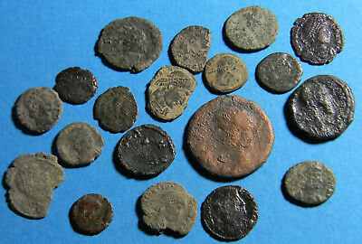 lot of (19) Ancient Roman Coins  (0312)