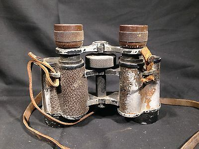 Vintage CHAUMONT Binoculars Made In France 8 x 30