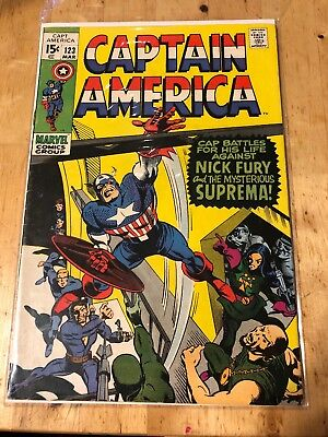 Captain America #123 (Mar 1970, Marvel)