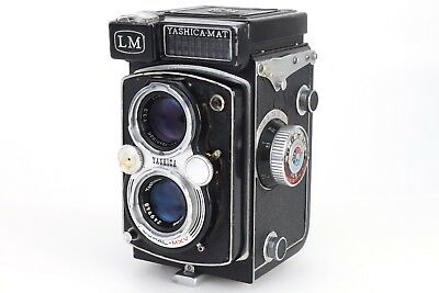 :Yashica Mat LM 6x6 120 Film TLR Camera 80/3.5 Lens - Needs Service