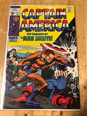 Captain America #121 (Jan 1970, Marvel)
