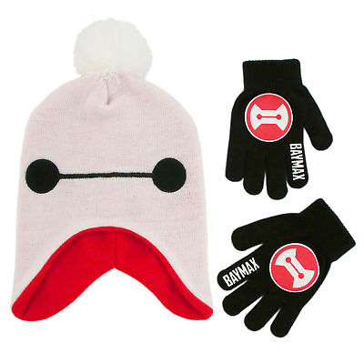 Disney Big Hero 6 Hat and Gloves Cold Weather Set, Little Boys, Age 4-7