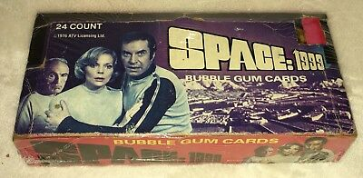 1976 Donruss Space:1999 Wax Box 24 Unopened Packs Space 1999