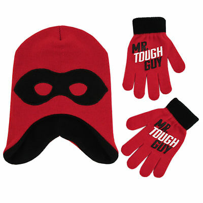 Disney The Incredibles 2 Hat and Gloves Cold Weather Set, Little Boys, Age 4-7