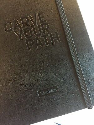 MOLESKINE BLACK HARD COVER CLASSIC RULED JOURNAL (2PK) Carve Your Path Cover