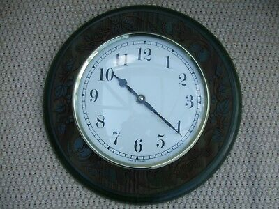 Wall Clock, Wooden Surround,Quartz, battery operated