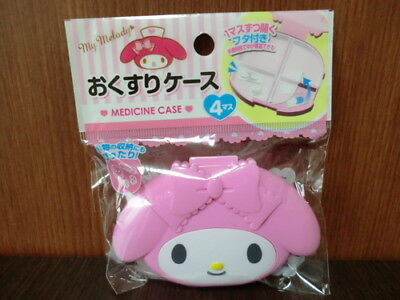 My Melody Portable Pill / Medicine Case DAISO JAPAN F/S NEW from japan