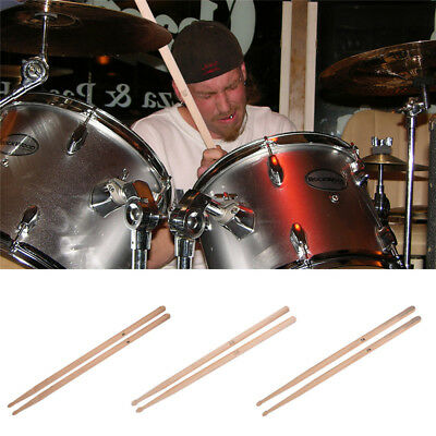 A Pair Professional 5A 5B 7A Maple Wood Drum Sticks Drumsticks Musical Parts Kit