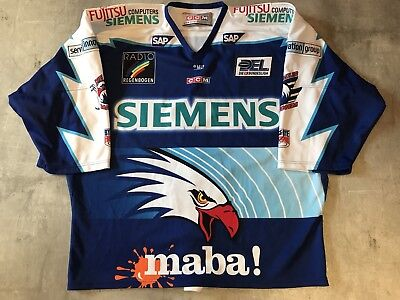 Adler Mannheim 04/05 Authentic / Game Worn ? #7 Sascha Goc - Hannover Scorpions