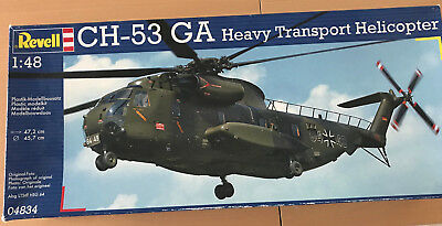 Revell 04834  CH-53 GA Transport Helicopter Luftwaffe  in 1:48