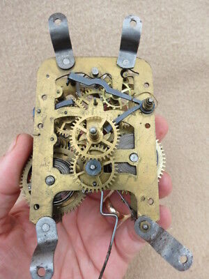 Antique 2 Day? Striking Balance Wheel Clock Movement