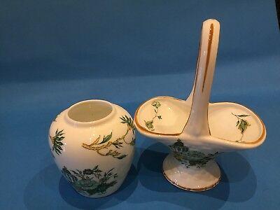 Crown Staffordshire Kowloon Porcelain Items As Seen