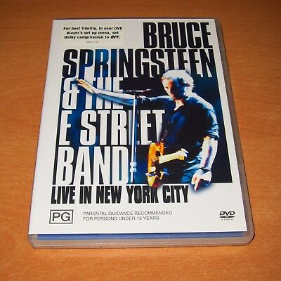 Bruce Springsteen And The E Street Band - Live In New York City ( DVD Region 4 )