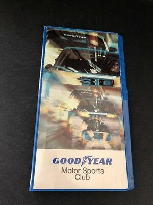 GOODYEAR Motor Sports Club Booklet w/ Racing Map and MPG/Lap Speed Indicator