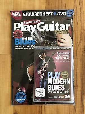 "Play Guitar Now Sonderheft ""PLAY MODERN BLUES"""